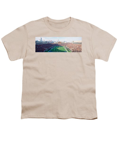High Angle View Of Spectators Youth T-Shirt by Panoramic Images