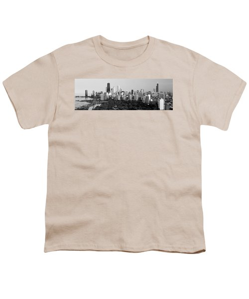 Buildings In A City, View Of Hancock Youth T-Shirt by Panoramic Images