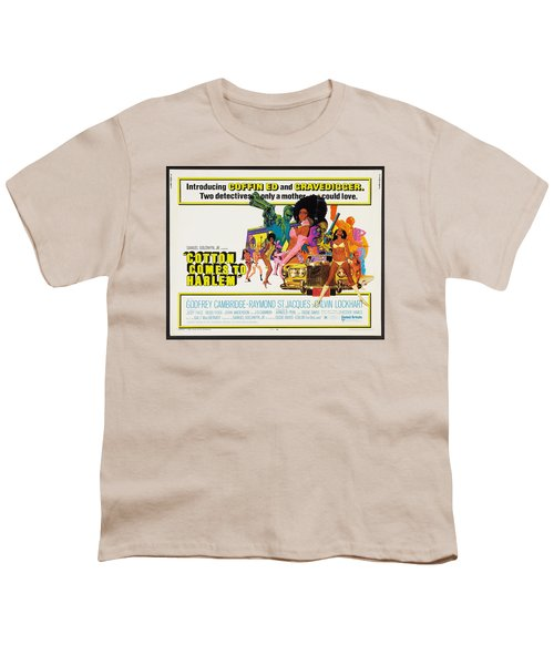 Cotton Comes To Harlem Poster Youth T-Shirt by Gianfranco Weiss