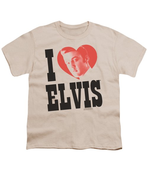 Elvis - I Heart Elvis Youth T-Shirt by Brand A