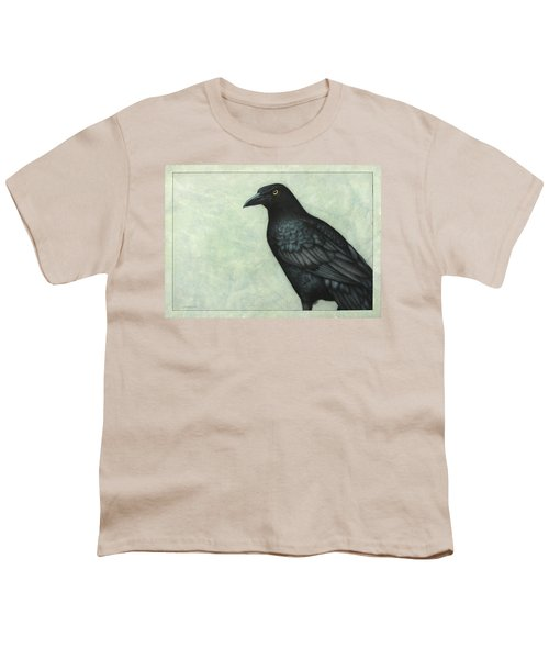 Grackle Youth T-Shirt by James W Johnson