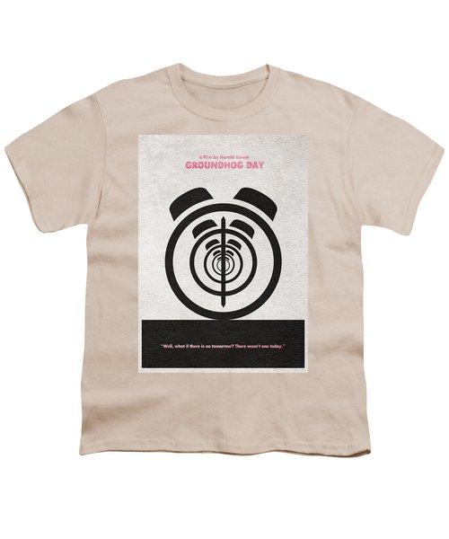 Groundhog Day Youth T-Shirt by Ayse Deniz