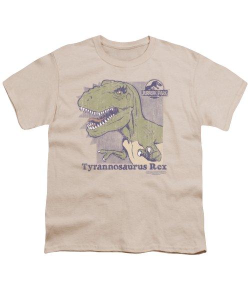 Jurassic Park - Retro Rex Youth T-Shirt by Brand A