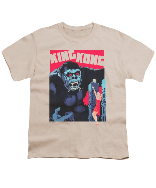 King Kong - Bright Poster Youth T-Shirt by Brand A