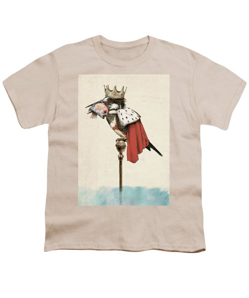 Kingfisher Youth T-Shirt by Eric Fan