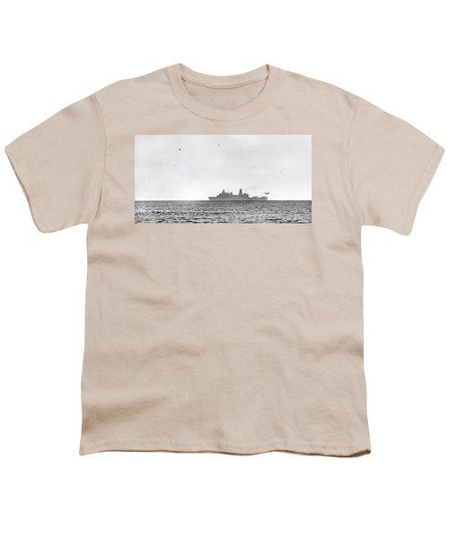 Landing On The Horizon Youth T-Shirt by Betsy Knapp