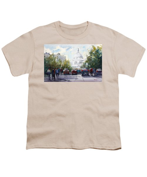 Madison - Capitol Youth T-Shirt by Ryan Radke
