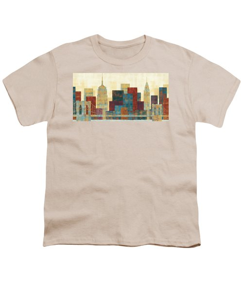 Majestic City Youth T-Shirt by Michael Mullan