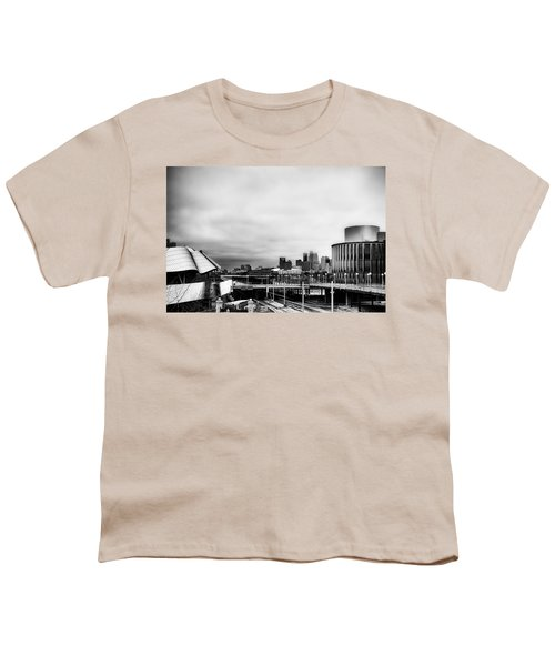 Minneapolis From The University Of Minnesota Youth T-Shirt by Tom Gort