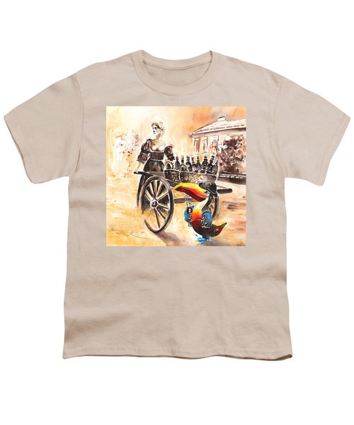 Molly Malone Youth T-Shirt by Miki De Goodaboom