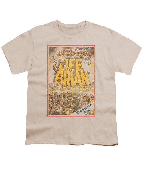 Monty Python - Brian Poster Youth T-Shirt by Brand A