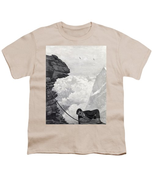 Nearly There Youth T-Shirt by Arthur Herbert Buckland