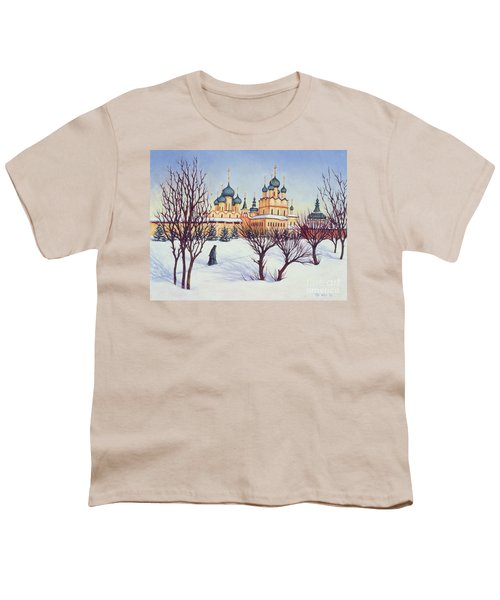 Russian Winter Youth T-Shirt by Tilly Willis