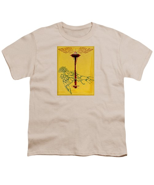Seattle Calling Youth T-Shirt by Sandstone Inc