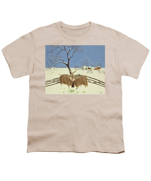 Spring In Winter Youth T-Shirt by Magdolna Ban