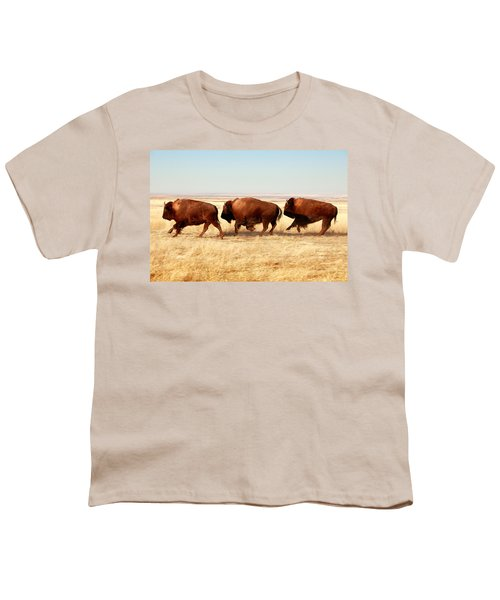 Tatanka Youth T-Shirt by Todd Klassy