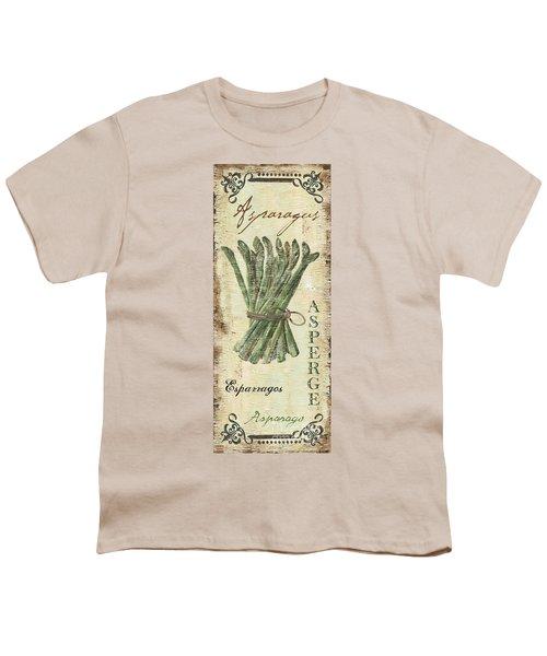 Vintage Vegetables 1 Youth T-Shirt by Debbie DeWitt