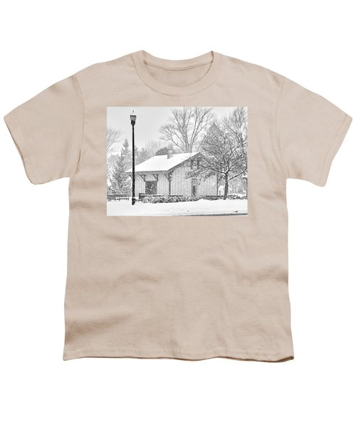 Whitehouse Train Station Youth T-Shirt by Jack Schultz