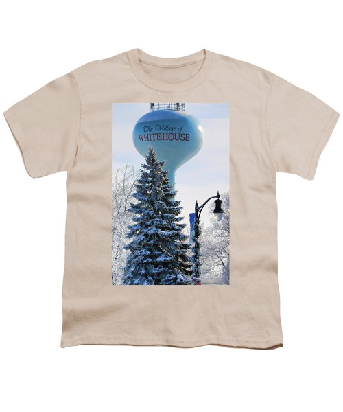 Whitehouse Water Tower  7361 Youth T-Shirt by Jack Schultz
