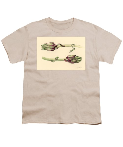 Artichokes Youth T-Shirt by Alison Cooper