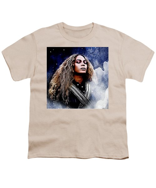 Beyonce  Youth T-Shirt by The DigArtisT