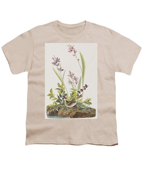 Field Sparrow Youth T-Shirt by John James Audubon