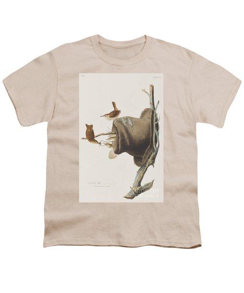 House Wren Youth T-Shirt by John James Audubon