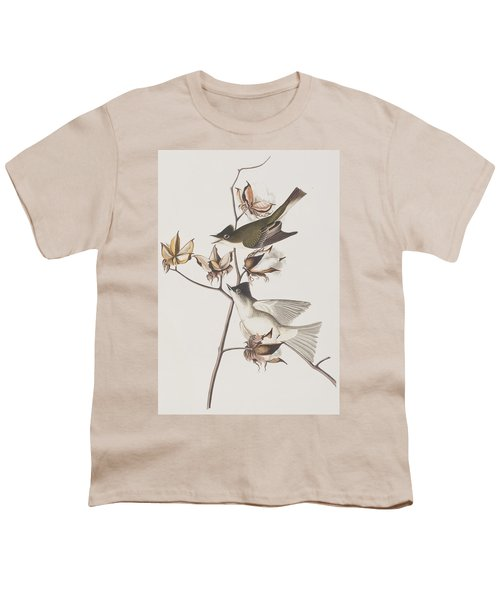 Pewit Flycatcher Youth T-Shirt by John James Audubon