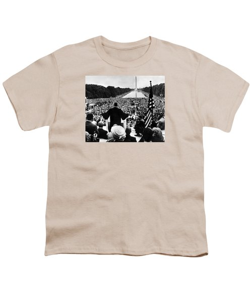 Martin Luther King Jr Youth T-Shirt by American School