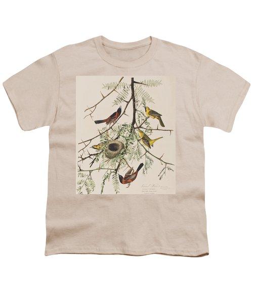 Orchard Oriole Youth T-Shirt by John James Audubon