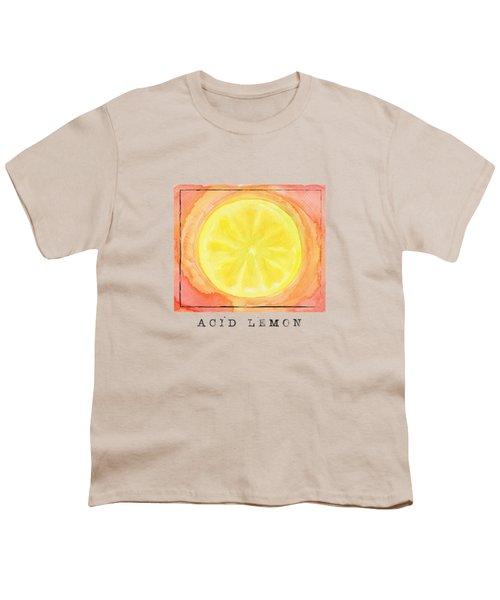 Acid Lemon Youth T-Shirt by Kathleen Wong