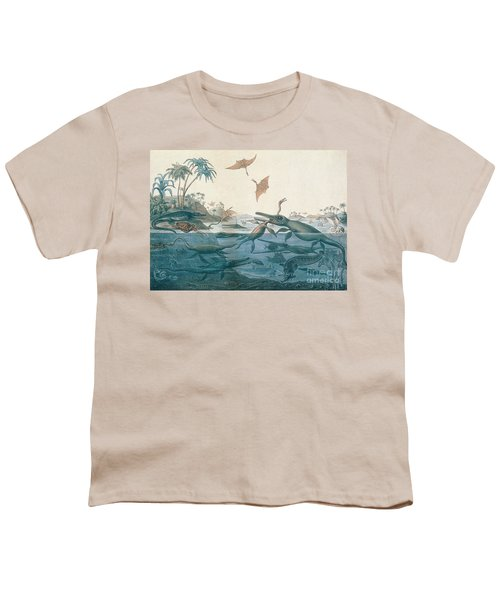 Ancient Dorset Youth T-Shirt by Henry Thomas De La Beche