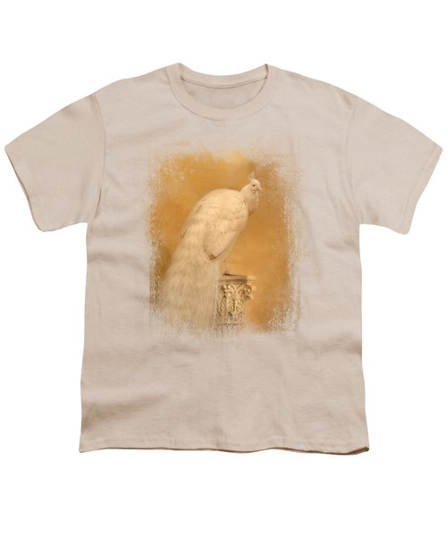 Elegance In Gold Youth T-Shirt by Jai Johnson