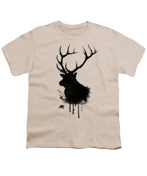Elk Youth T-Shirt by Nicklas Gustafsson