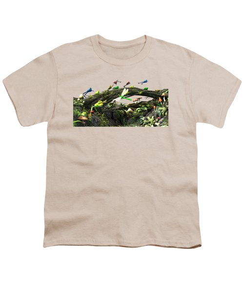 Frog Glen Youth T-Shirt by Methune Hively
