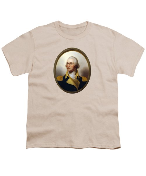 General Washington Youth T-Shirt by War Is Hell Store