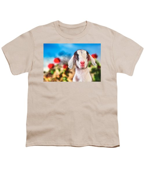 I'm In The Rose Garden Youth T-Shirt by TC Morgan