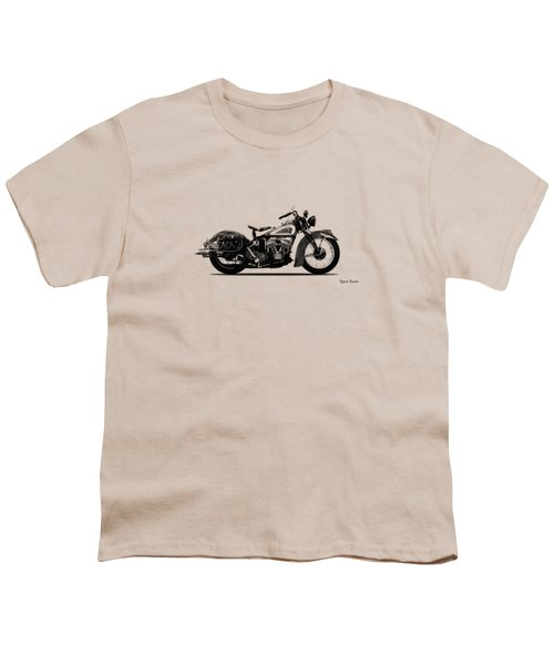 Indian Sport Scout 1939  Youth T-Shirt by Mark Rogan
