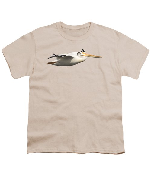 Isolated Pelican 2016-1 Youth T-Shirt by Thomas Young