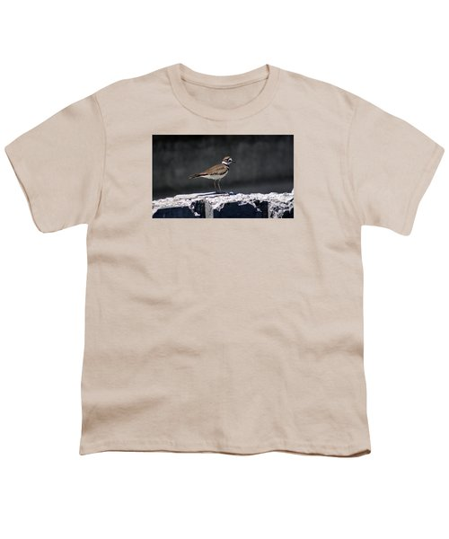 Killdeer Youth T-Shirt by M Images Fine Art Photography and Artwork