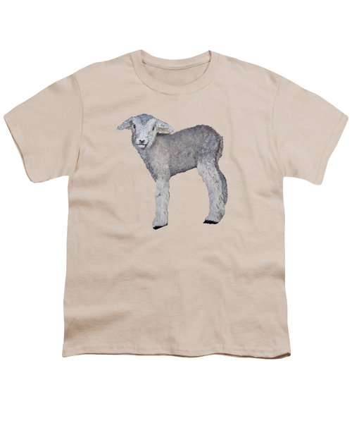 Lamb Youth T-Shirt by Petra Stephens