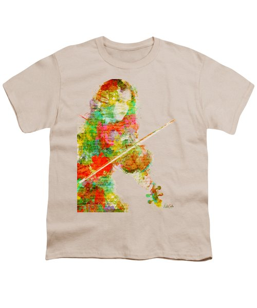 Music In My Soul Youth T-Shirt by Nikki Smith