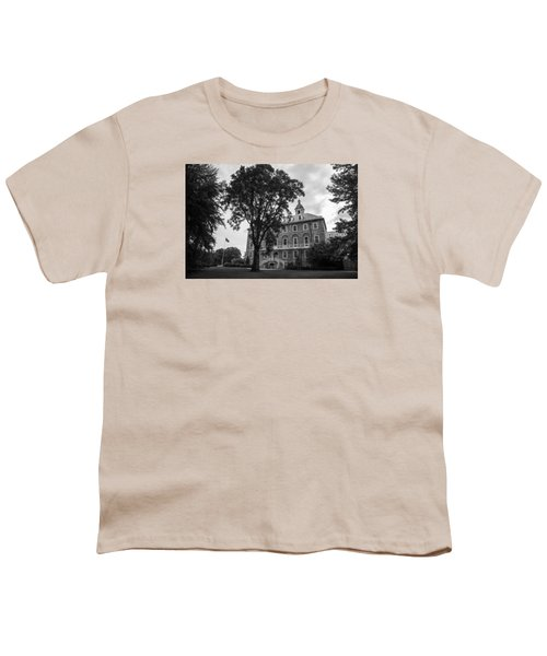 Old Main Penn State Youth T-Shirt by John McGraw
