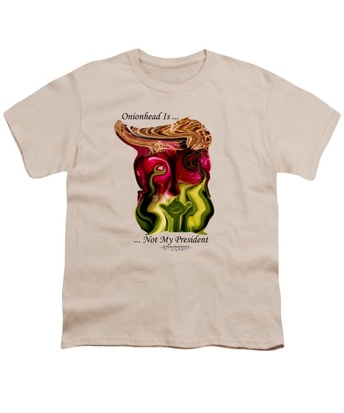 Onionhead Transparency Youth T-Shirt by Robert Woodward