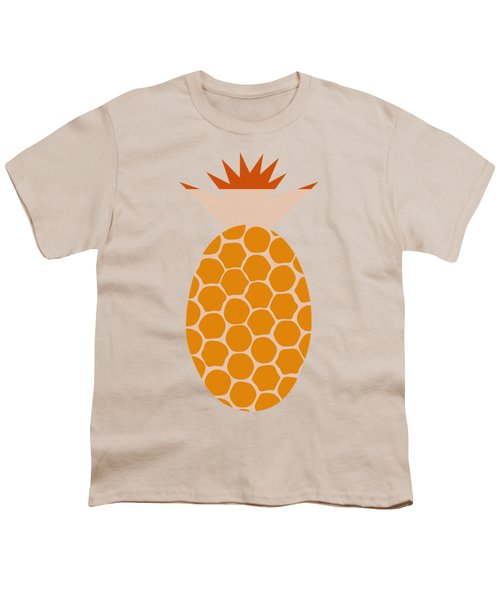 Pineapple Youth T-Shirt by Frank Tschakert