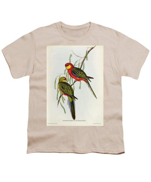 Platycercus Icterotis Youth T-Shirt by John Gould