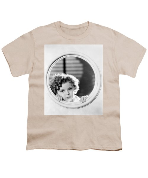 Shirley Temple (1928-2014) Youth T-Shirt by Granger