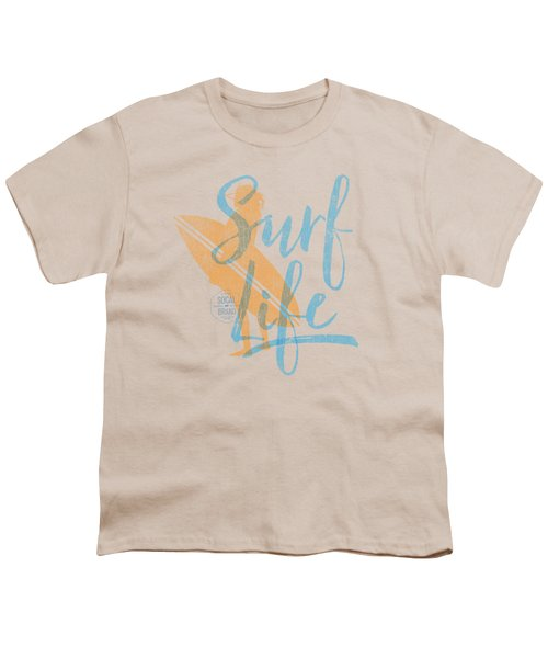 Surf Life 2 Youth T-Shirt by SoCal Brand