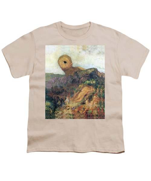 The Cyclops Youth T-Shirt by Odilon Redon