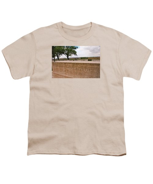 Youth T-Shirt featuring the photograph Their Name Liveth For Evermore by Travel Pics